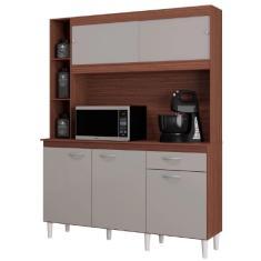 Imagem de Cozinha Compacta 1 Gaveta 5 Portas Duda A883 Poquema
