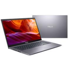 "Notebook Asus M509DA-BR324T AMD Ryzen 5 3500U 15,6"" 8GB HD 1 TB Windows 10 Bluetooth Velocidade do Processador 2,1 GHz"