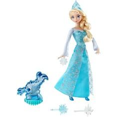 Imagem de Boneca Frozen Em Ação Elsa Mattel