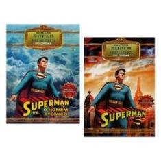 Imagem de Kit Box Superman Coleção Super Heróis Do Cinema - 04 Discos