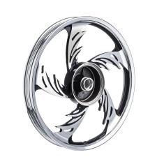 Imagem de Roda Aluminio Diant. Temco Orion Crom/Pto Cg 150 Esd S/Rol.
