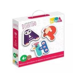 Imagem de Brinquedo Educativo Alfabeto Divertido - Babebi