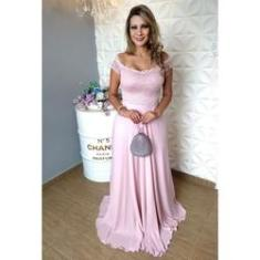 Imagem de Vestido de Festa Longo Rose - Casamento, Madrinha Lindo
