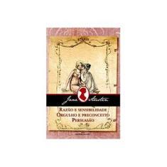 Imagem de Razão e Sensibilidade - Orgulho e Preconceito - Persuasão - Austen, Jane - 9788572328050