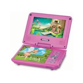 DVD Player Portátil Fadas Encantadas D-12 Mondial