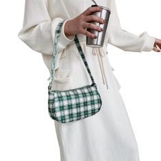 Imagem de Bolsa Crossbody Casual Moda Couro pu Bolsa de Ombro Feminino Bolsa Corrente