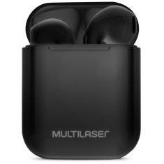 Fone de Ouvido Bluetooth com Microfone Multilaser PH326 TWS Gerenciamento chamadas