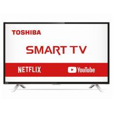 """Smart TV LED 32"""" Toshiba 32L2800 3 HDMI LAN (Rede) USB"""