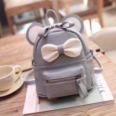 Imagem de Ador¢vel Bow Knapsack Feminino Shoulder Messenger Bag Durable Bag Crossbody Bag