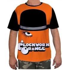 Imagem de Camisa Camiseta Masculina Laranja Mecanica Clockwork Orang 3