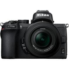 Imagem de Nikon Z50 Mirrorless Câmera Digital Com Lentes Nikkor Z Dx