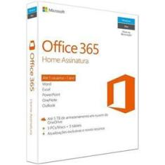 Licença Microsoft Office 365 Home Premium Para 5 Pc / Mac Br