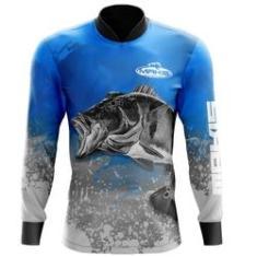 Imagem de Camisa De Pesca Proteção Solar Uv50 Makis Fishing MK-01