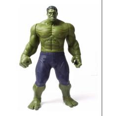 Imagem de 1 Boneco Hulk Heróis Avengers 30cm Musical E Com Luz