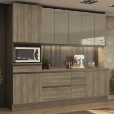 Imagem de Cozinha Completa 6 Gavetas 11 Portas Maxxi CB338 Kappesberg