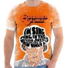 Imagem de D1 Camiseta Camisa Personalizada Laranja Mecânica ...