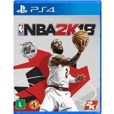 Jogo NBA 2K18 PS4 2K