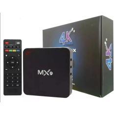 Imagem de Smart TV Box MX9 16GB 4K Android TV USB HDMI