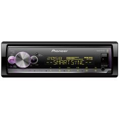 Media Receiver Pioneer MVH-X300BR Bluetooth USB Viva Voz
