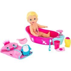 Imagem de Boneca Little Mommy Little Mommy Brincadeira na Banheira Mattel