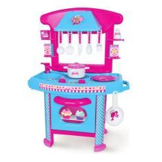 Imagem de Brinquedo Cozinha Infantil Da Barbie C/ Acessórios Cotíplas