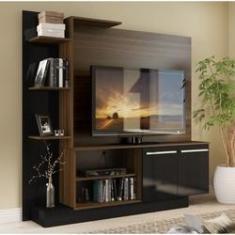 Imagem de Estante Home Theater para TV até 55 Pol. Denver Multimóveis Duna Acetinado com  Brilho