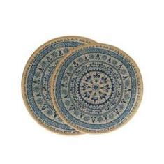Jogo de descanso de panela Kacyumara 343212/2 2 peças