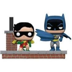 Imagem de Funko Pop Batman and Robin #281 - Comic Moments 1972 80th Anniversary - DC - Heroes