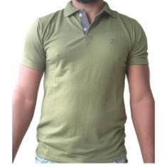 Imagem de Kit 6 Camisa Masculina Gola Polo Bordada Piquet Original