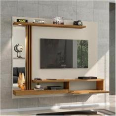 Imagem de Painel para TV até 55 Polegadas com espelho 1 Porta Denver Bechara