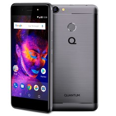 Smartphone Quantum You E 32GB 13,0 MP 2 Chips Android 7.0 (Nougat) 4G 3G Wi-Fi