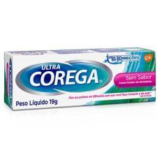 Imagem de Corega Ultra Creme Fixador de Dentadura Sem Sabor 19g