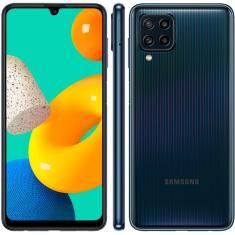 Imagem de Smartphone Samsung Galaxy M32 SM-M325F 128GB Android Câmera Quádrupla 2 Chips