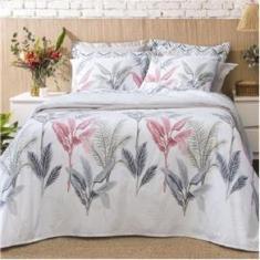 Imagem de Kit Cobre Leito Queen Santista Home Design 100% Algodao Palm 1