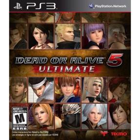Jogo Dead or Alive 5 Ultimate PlayStation 3 Tecmo
