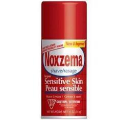Imagem de Noxzema Sensitive Skin Espuma de Barbear Pele Sensível 311g