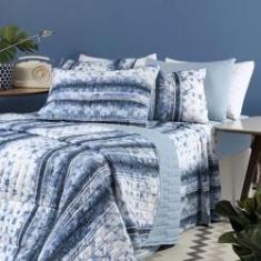 Imagem de Jogo de Lençol Solteiro Altenburg In Cotton Blue Dream