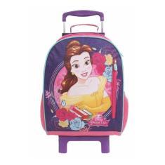 Imagem de Mochila com Rodinhas Escolar Dermiwil Effect Disney Princesa Bela e a Fera