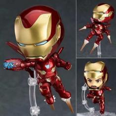 Imagem de Ironman marca de 50 Marvel Avengers bonito Homem de Ferro Tony Stark pvc Action Figure Coleção brinquedos modelo