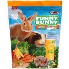 Imagem de Funny Bunny Ração Delícias Da Horta - 500g