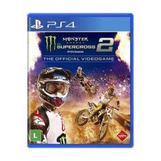 Jogo Monster Energy Supercross The Official Videogame 2 PS4 Milestone