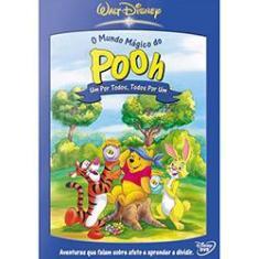 Imagem de DVD O Mundo Mágico de Pooh - Um por Todos e Todos por Um