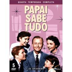 Imagem de DVD Papai Sabe Tudo - Quarta Temporada Completa - 5 Discos