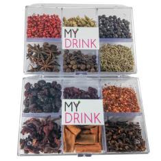 Imagem de Kit 12 Especiarias Para Gin Tonica