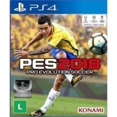 Jogo Pro Evolution Soccer 2018 PS4 Konami