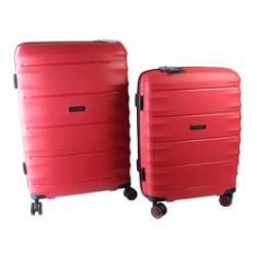 Imagem de Conjunto de Malas de Viagem 2 Peças c/ TSA e Roda 360  Swissland - YS21050V