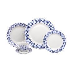 Imagem de Jogo de jantar porcelana Home Gallery Blue Sakura 20 peças