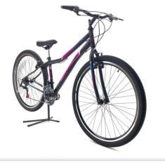 Imagem de Bicicleta Route Bike MTB 21 Marchas Aro 29 Suspensão Dianteira Freio V-Brake MTB