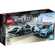 Imagem de Lego Speed Champions Formula E Panasonic Jaguar Racing Gen2 Car E Jaguar I 76898