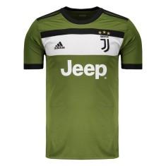 Camisa Juventus III 2017 18 Torcedor Masculino Adidas e02ef5afe8eae